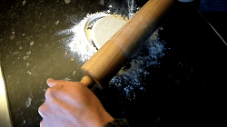 Dünnes Fladenbrot für Dürüm/Yufka Döner Selber Machen (Pfannenfladenbrot) - Schritt 11