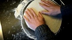Dünnes Fladenbrot für Dürüm/Yufka Döner Selber Machen (Pfannenfladenbrot) - Schritt 12