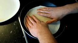 Dünnes Fladenbrot für Dürüm/Yufka Döner Selber Machen (Pfannenfladenbrot) - Schritt 14