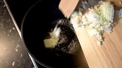 Ricotta Spinat Füllung herstellen - Schritt 2