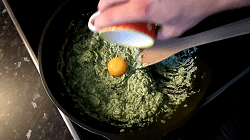Ricotta Spinat Füllung herstellen - Schritt 8