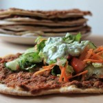 Homemade Turkish Pizza/Lahmacun
