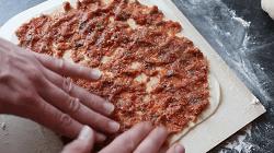 Lahmacun/Türkische Pizza Selber Machen - Schritt 25