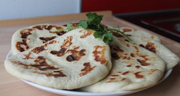 Indisches Naan Brot Selber Machen
