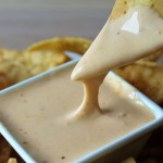 Homemade Cheese Dip for Nachos