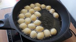 Homemade Curd Balls - Step 15