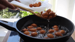 Homemade Curd Balls - Step 16